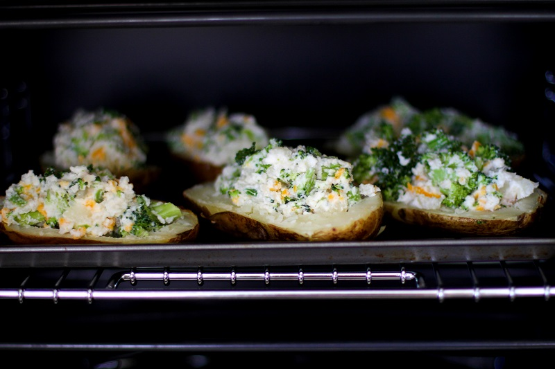 Twice Baked Potatoes | Wolf Gourmet