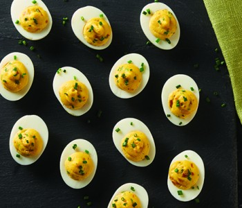 Wolf Gourmet Deviled Eggs