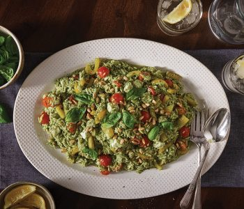 Orzo Pesto Salad
