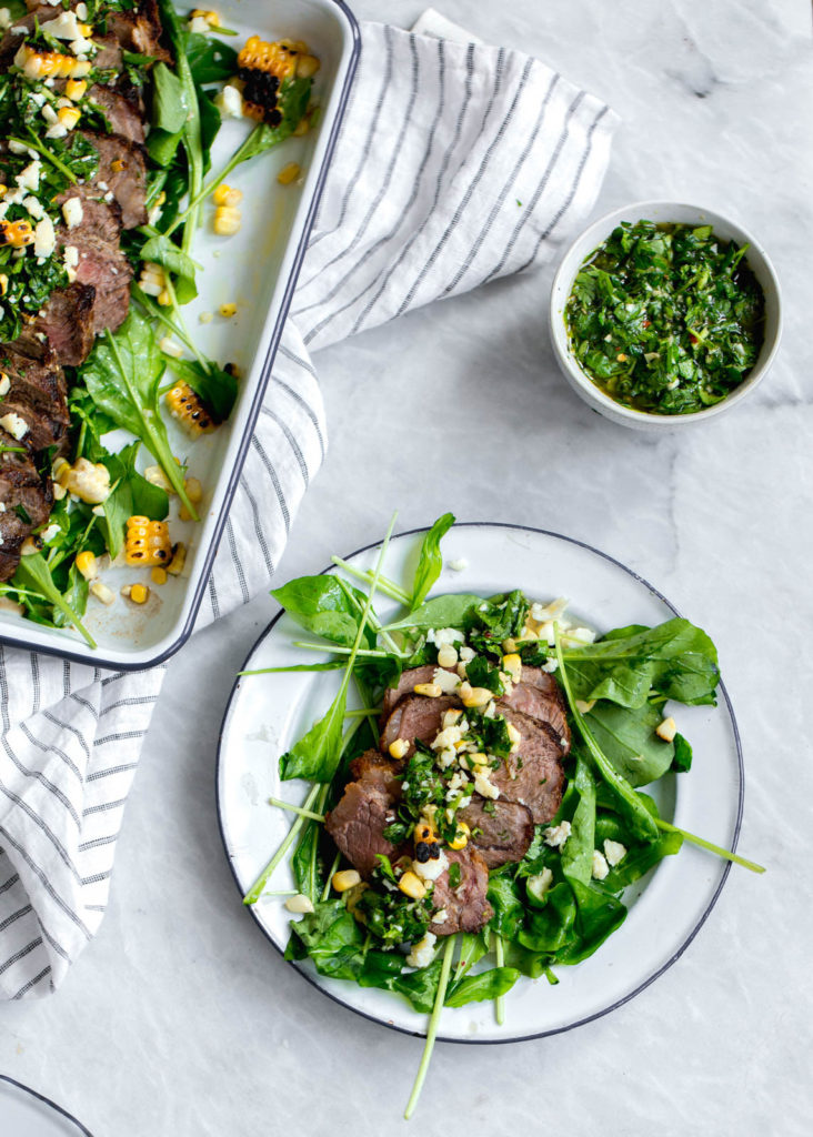 Chimichurri Steak Salad | Wolf Gourmet