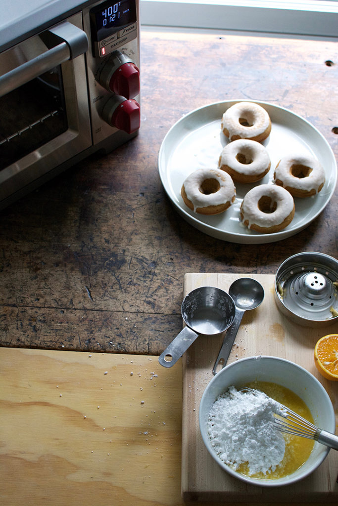 Baked Orange Juice Donuts with Sucaritos Sprinkle | Wolf Gourmet