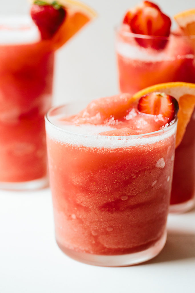 Strawberry and Grapefruit Frosé | Wolf Gourmet