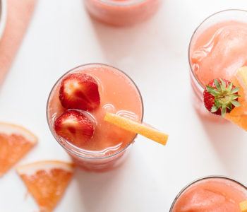 Wolf Gourmet Strawberry and Grapefruit Frosé