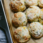 Cheddar Scallion Biscuits | Wolf Gourmet