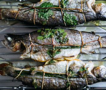 Oven Crispy Fish with Herbs