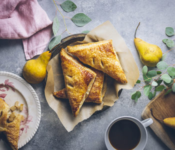 Cardamom Spiced Pear Turnovers